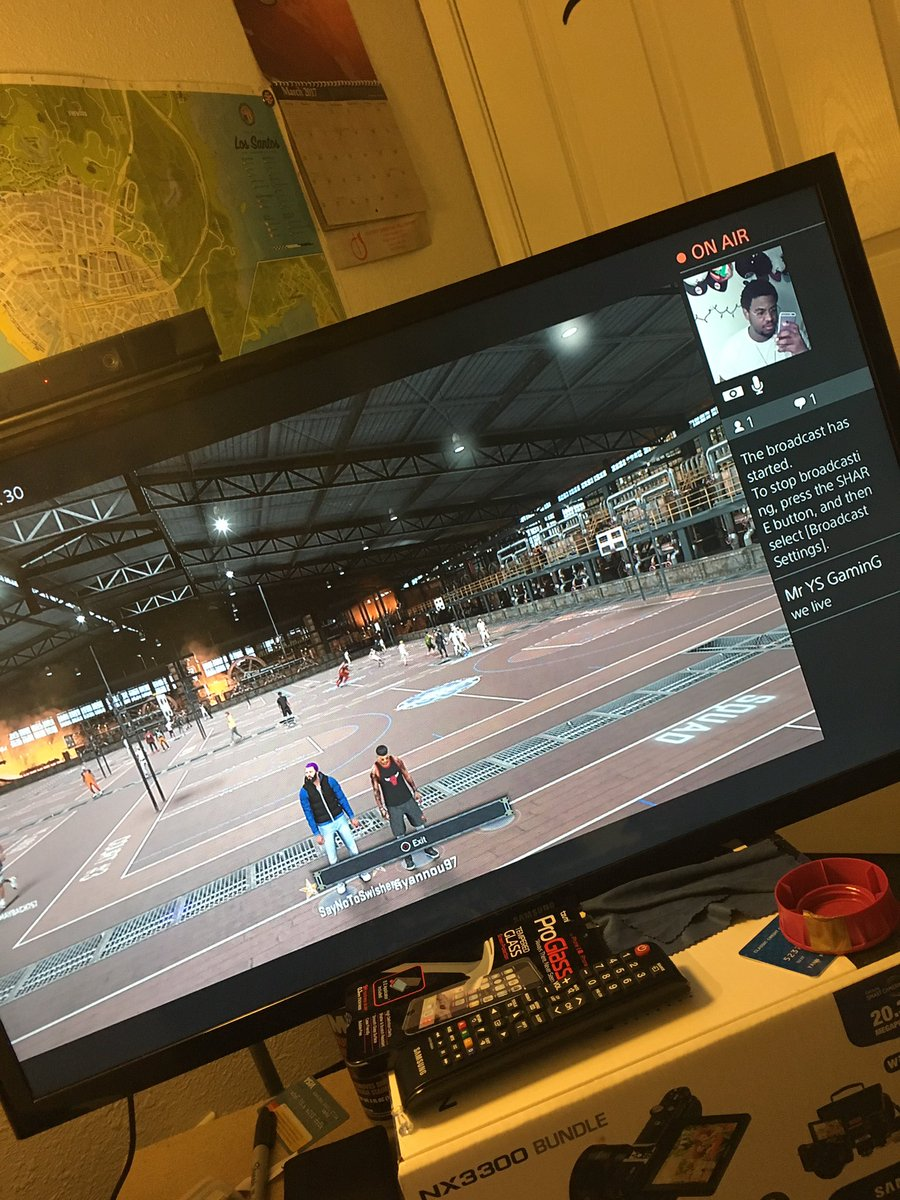 #livestreaming link in the bio on #YouTube #NBA2K17 #SS1 #grind<br>http://pic.twitter.com/levobJH5UZ