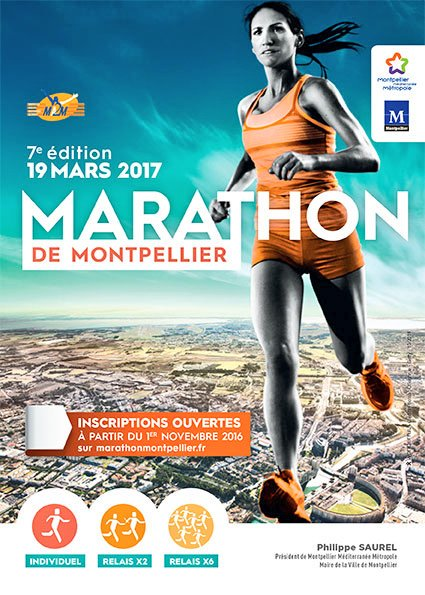 Ce dimanche pres de 5000 coureurs seront au départ place du nombre d&#39;or pour la 7é édition #Marathon ! #MontpellierCapitaleSport @saurel2014<br>http://pic.twitter.com/ZImrChgBuo