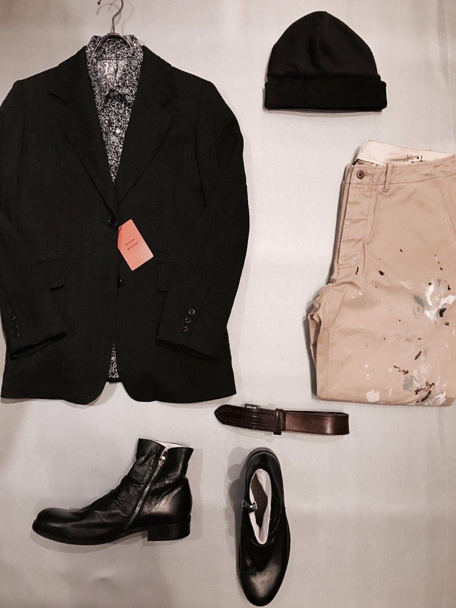 Coordinate。  #Dries Van Noten #Ralph Lauren <br>http://pic.twitter.com/Qr8IwlfXBN
