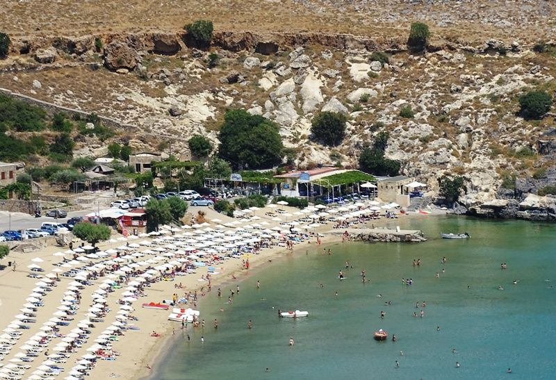 Your trip to #Lindos is incomplete if you don't go for a #swim in one of the two #beaches that are within walking distance from the #village<br>http://pic.twitter.com/UbVIeM1rc8