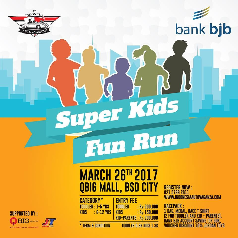Super Kids Fun Run • 2017