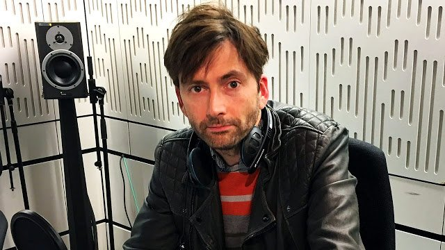 David Tennant to making a radio appeal on behalf of Comic Relief
