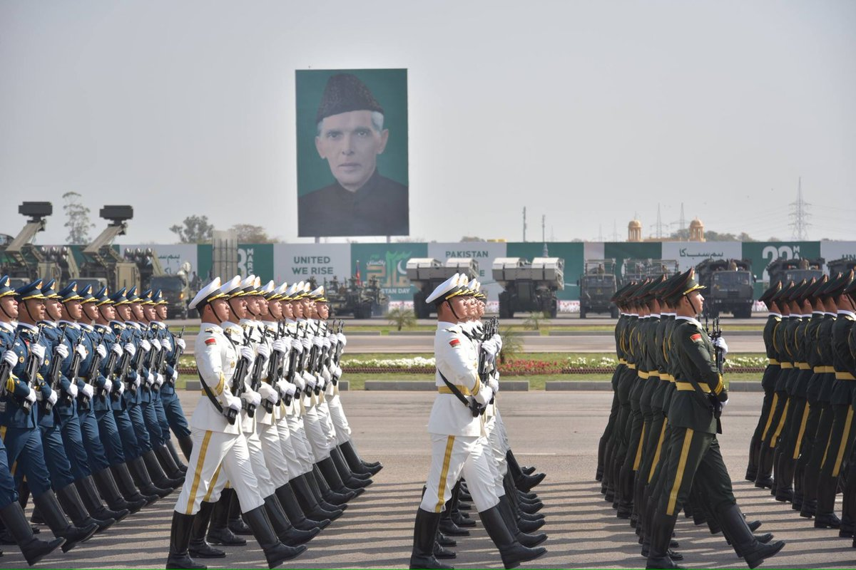 Pakistan: Rehearsal of National Day Parade,special guest to this year's parade is China's PLA,