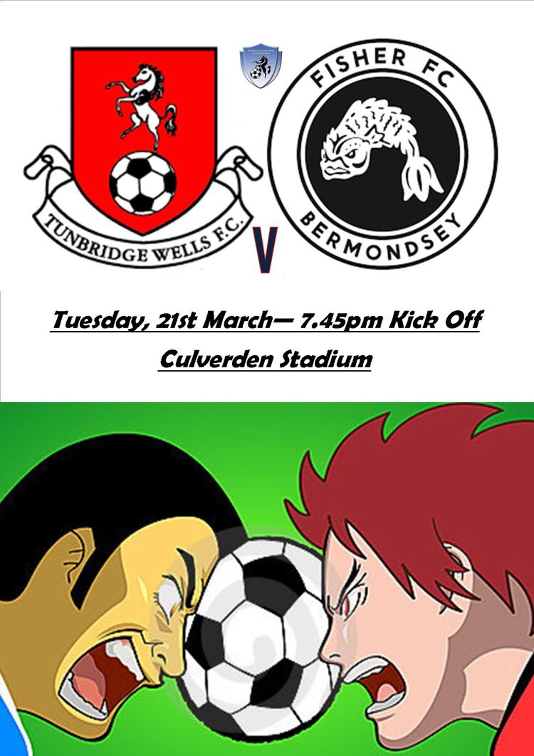 Tuesday evening under the lights! The Wells have their say on who will face the drop! #TunbridgeWells #Fisher   http://www. tunbridgewellsfc.com/node/1420  &nbsp;  <br>http://pic.twitter.com/XXtKck1g7i
