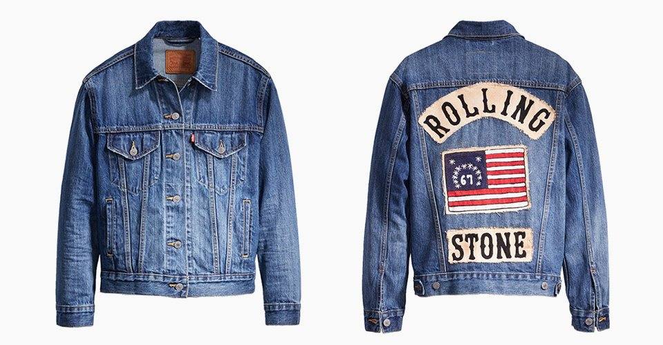 .@LEVIS and @Rollingstone celebrate the mag's 50th anniv. with limited...