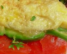 Tomato and Herb Omelet