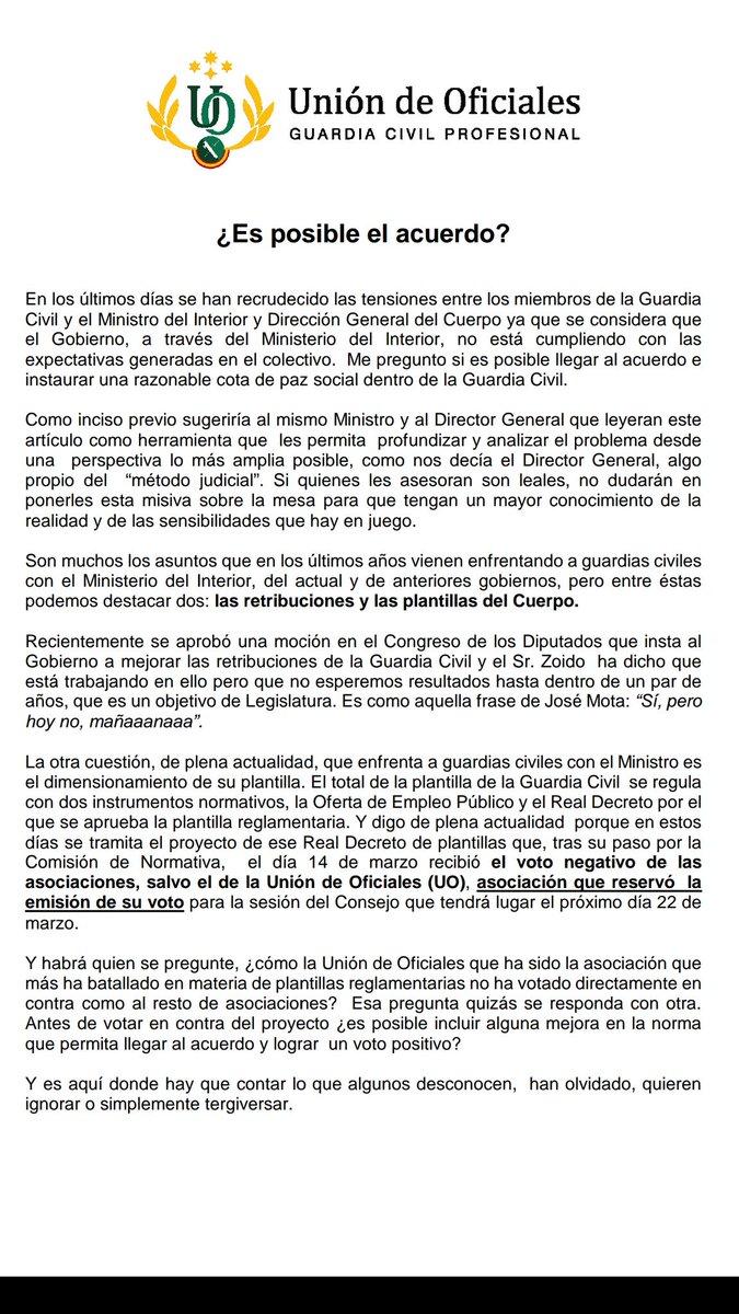 Unión de Oficiales on Twitter: \