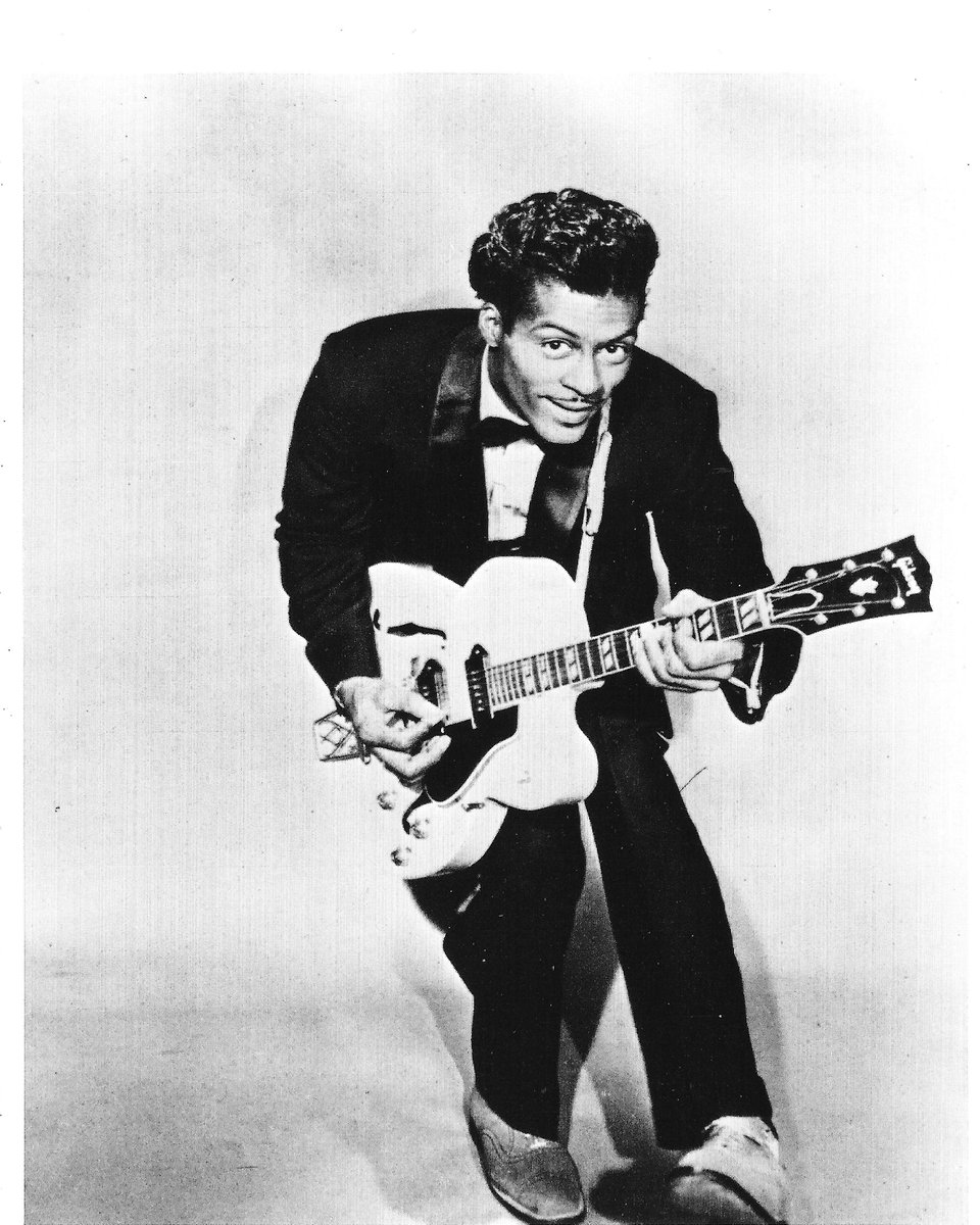 Chuck Berry IS rock and roll! It's sad day for rock and roll, but his music will live on forever. Hail, hail rock and roll!!!!! https://t.co/ANCkKaglQW