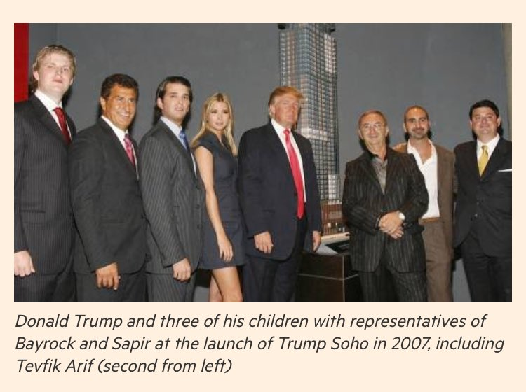 Trump SoHo Venture had deals with the Kazakh Family .. A Criminal Family that Laundered Hundred of Millions of Dollars  #TrumpLeaks #Amjoy<br>http://pic.twitter.com/8b6srONsT4