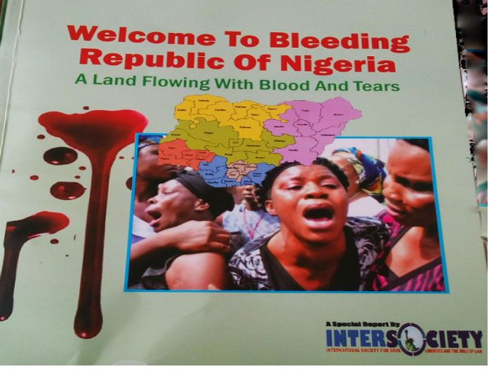 Welcome to Bleeding Republic of Nigeria: A Land Flowing with Blood  and Tears is compilation of widespread human rights abuses in 20 months of Buhari