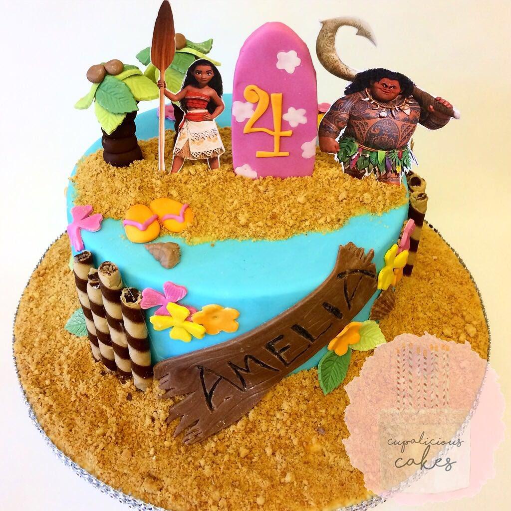 Cupalicious Cakes CupaliciousUK Twitter - Maui birthday cakes
