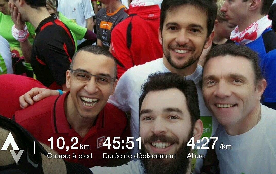Un 10km avec les couleurs de @groupe_mgen et de @mon_stade. BRAVO A TOUS ! #lesfouleesdelassurance #10km #running #espritdequipe<br>http://pic.twitter.com/UjDExXxBhv