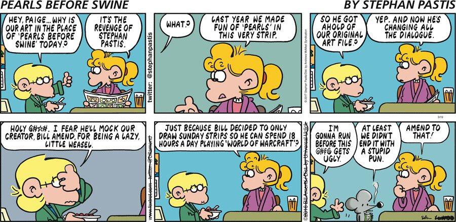 The expert, foxtrot comic strip website something is. agree