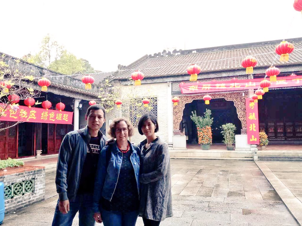 Good friends and a sneaky after-hours visit to the Yang Ancestral Hall in Beishan. https://t.co/U8fFP3WK9G https://t.co/F3Ok8zj1SA