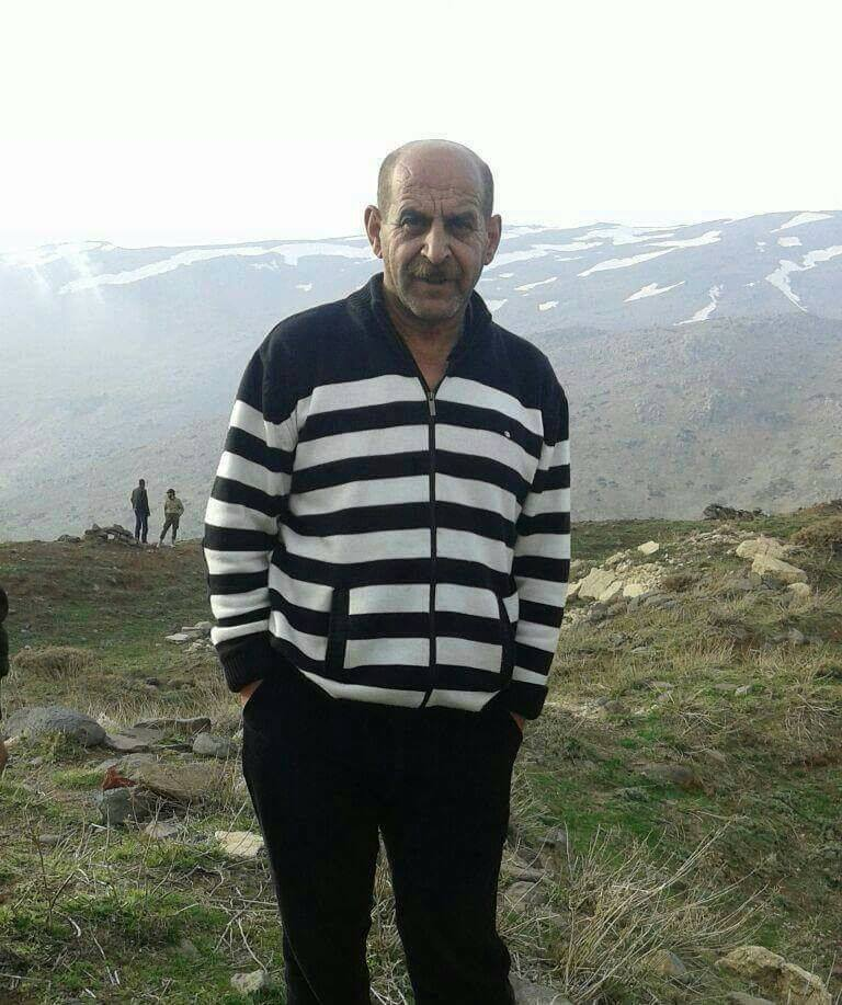 Syrian civilian Yasser Al-Sayyed killed by Israeli armed drone on the way linking Al-Quneitra to Damascus.