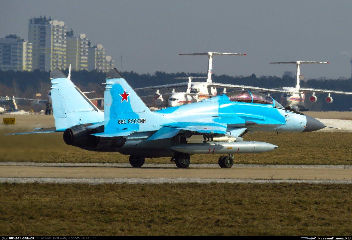 المقاتله الروسيه MiG-35  متعددة المهام  C7StsVaW4AUF04g
