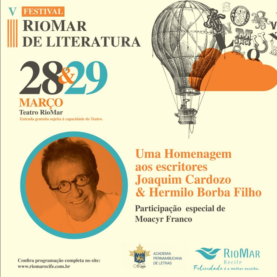 Resultado de imagem para festival literatura riomar