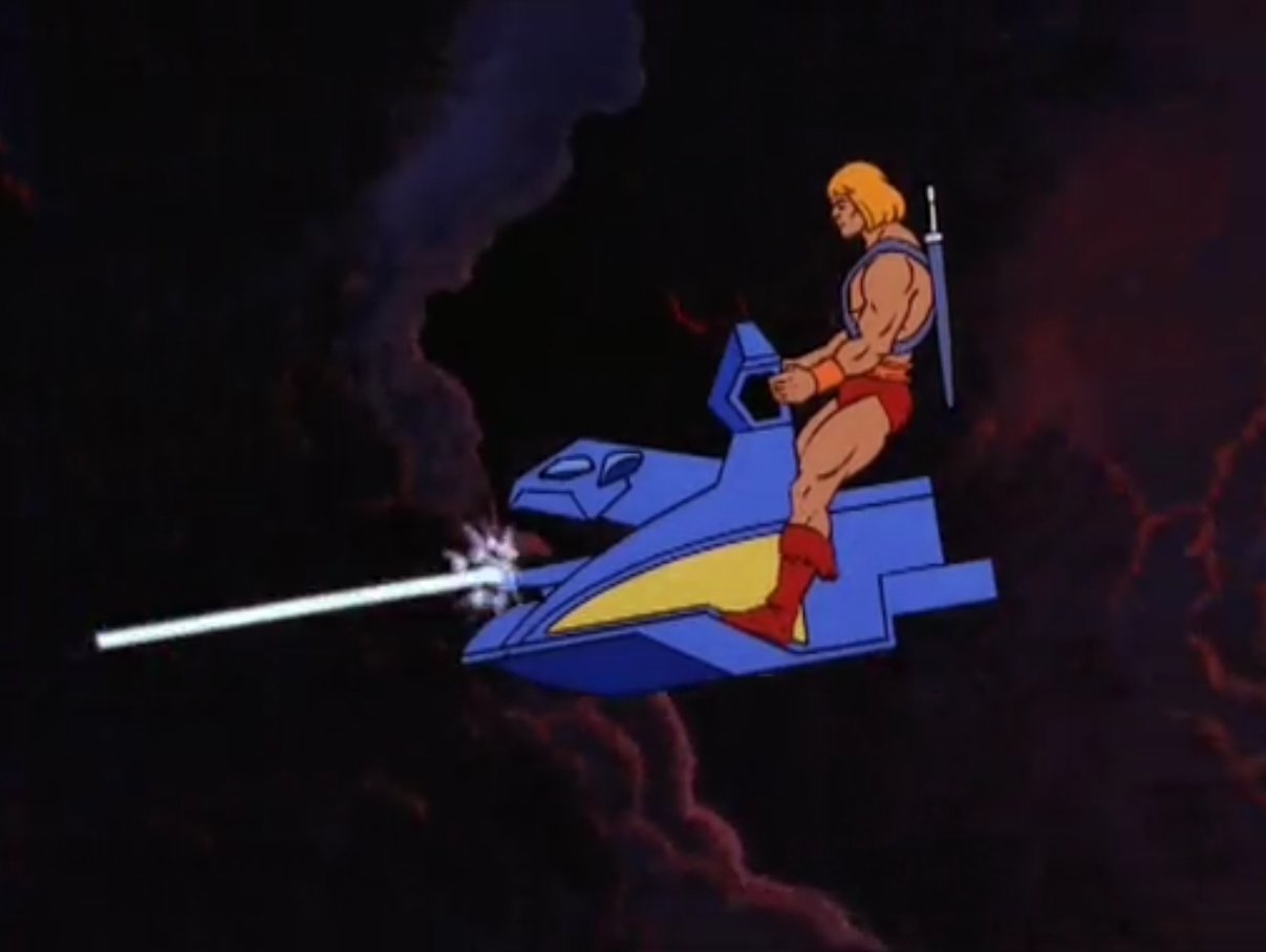 He-Man pilots the semen-powered air skiff https://t.co/bVG2Ngq1tz
