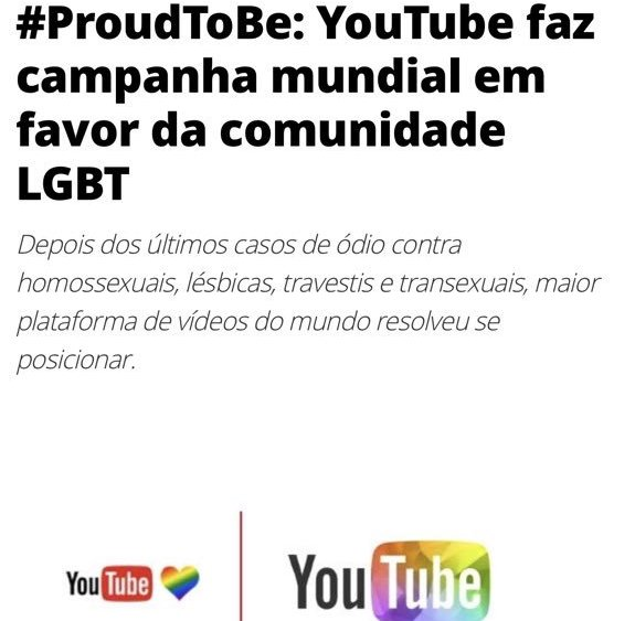 DEIXA DE SER FALSA MININA @YouTube #YouTubeIsOverParty https://t.co/tA...