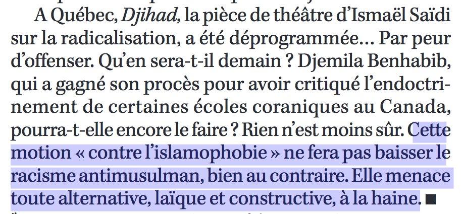 Du #Totalitarisme soft des #Libéraux à l&#39;#IslamoFascisme ? &quot;Cette &quot;#Islamophobie&quot; [sic] qui déchire aussi le #Canada&quot;, C. Fourest - Marianne<br>http://pic.twitter.com/eazKD9SGTi
