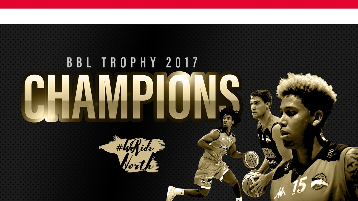 Leicester Riders are the 2017 BBL Trophy Champions!   #OneTeam https://t.co/0qYj2NzvCp