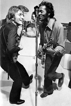 They be jammin where the spirits play. RIP Mr #ChuckBerry! #RockInPeace <br>http://pic.twitter.com/bhNlxevXMB
