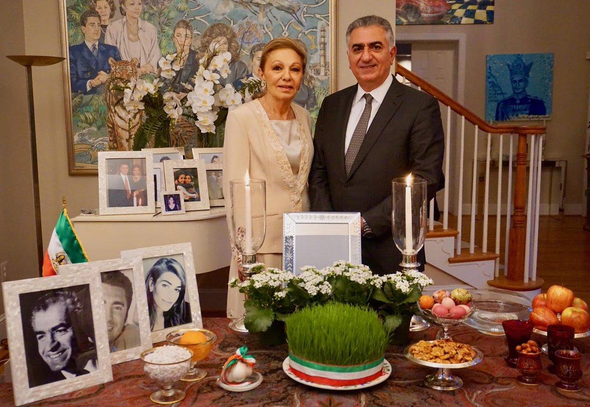 عکسهای نوروزی خانواده #پهلوی به مناسبت #نوروز ۲۵۷۶ Celebrating The Iranian New Year #Nowruz 2576