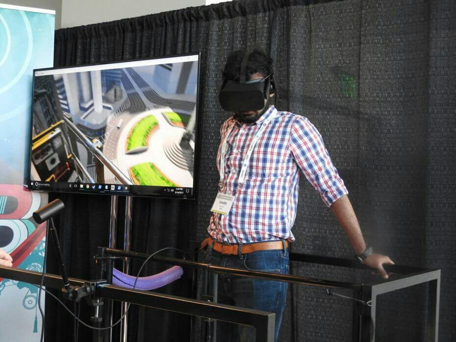 Two Bit Circus combines VR and motion simulator to make you feel vertigo on a skyscraper