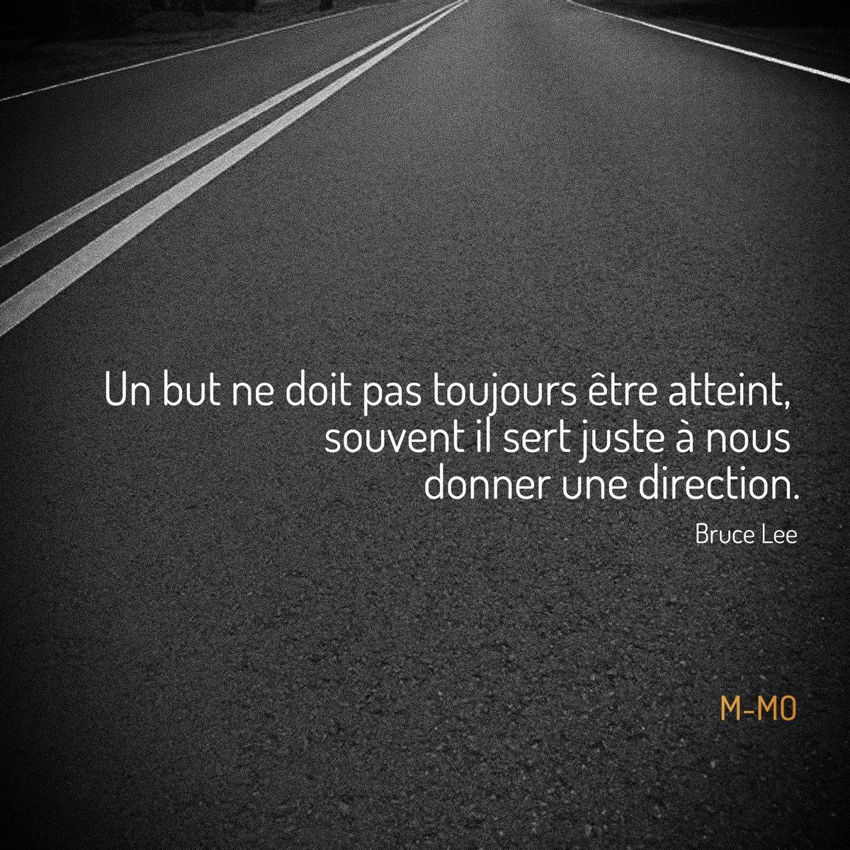 Trouve ta direction!  #citation #citationdujour #objectif #brucelee #reussite #succes #chemin #direction #fonce #vasy #go #texte<br>http://pic.twitter.com/pN1tRtED56