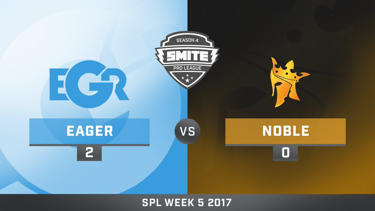 Team Eager vs Noble eSports