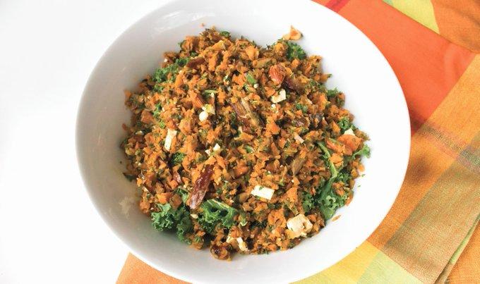 Gluten-Free Roasted Carrot Tabbouleh Salad