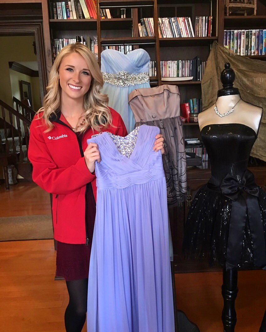Kayla Stewart On Twitter Donating An Old Prom Dress For A Great