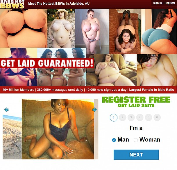 Dating site for big people