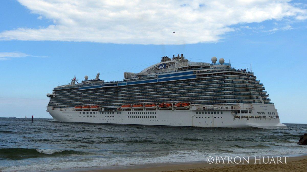 @PrincessCruises #regalprincess #departs @PortEverglades #FtLauderdale during @SeatradeCruise #stcglobal<br>http://pic.twitter.com/fQQvMu2AbR