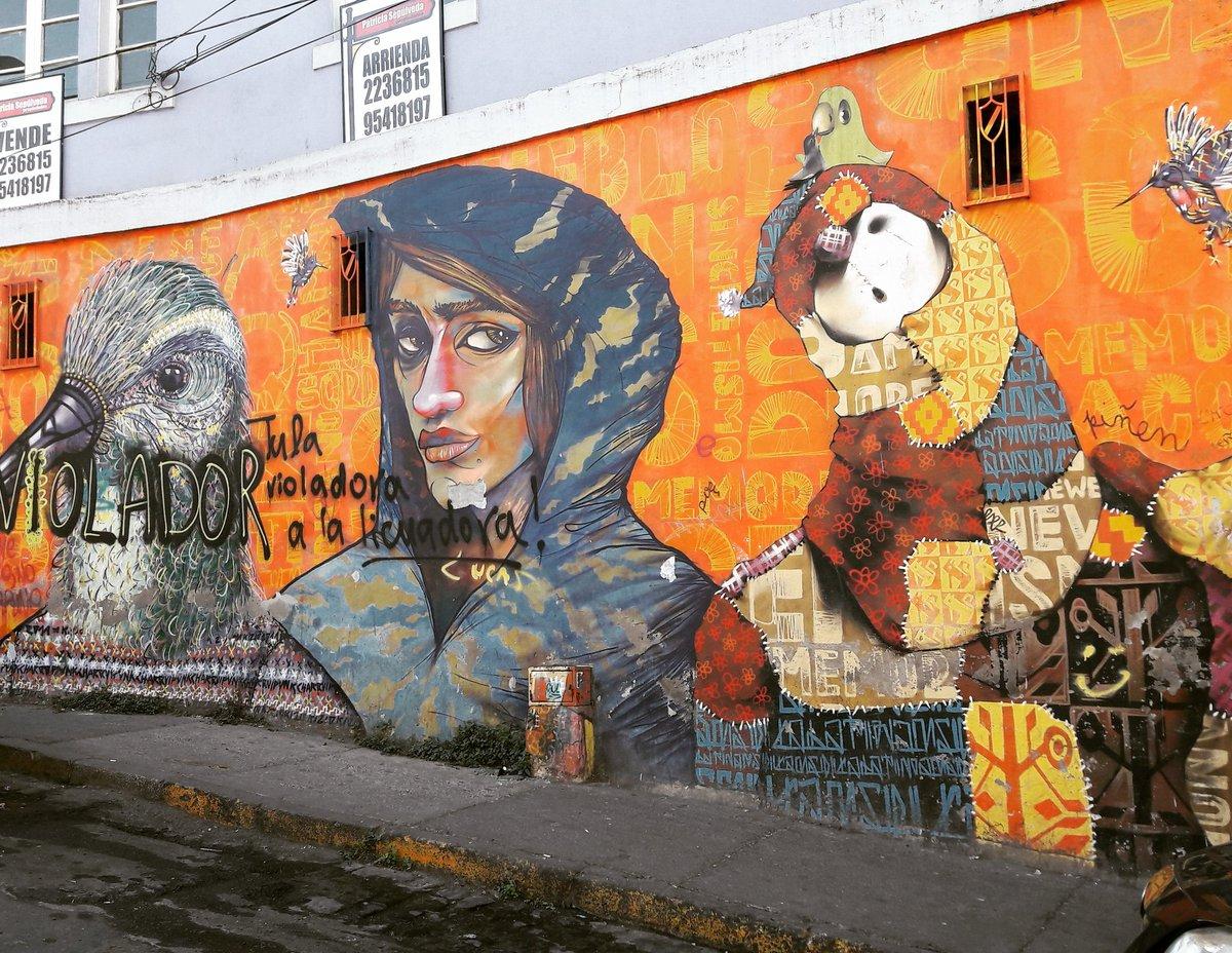 Une des nombreuses fresques de #valparaiso #chili #charq #lrm #inti #urbanart #streep #streepart #arturbain @Streepart<br>http://pic.twitter.com/rtETgGWLw1