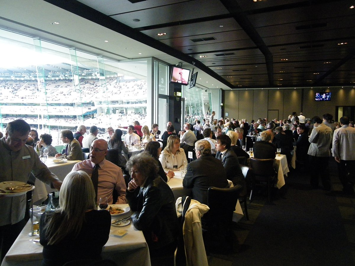 Melb Cricket Club On Twitter Members Dining Room And Jim Stynes