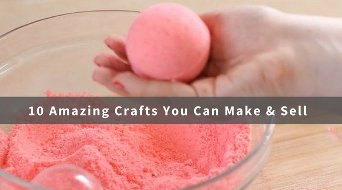 10 Amazing Crafts You Can Make and Sell