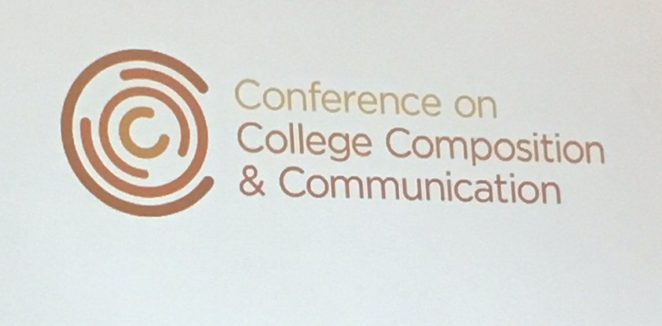 I'm excited about this new logo for CCCC. Expect to see it on lots of stuff! Especially for #4C18 ! @NCTE_CCCC https://t.co/ojwYfPjfC5