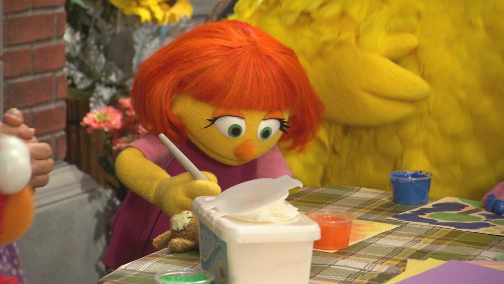 In a few weeks, a new Muppet will come to Sesame Street. Her name is Julia, and she has autism. Meet her next on #60Minutes