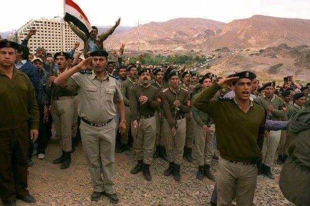 استرداد طابا: نصر الدبلوماسية المصرية الأكبر C7Uh9rOXkAImSwj