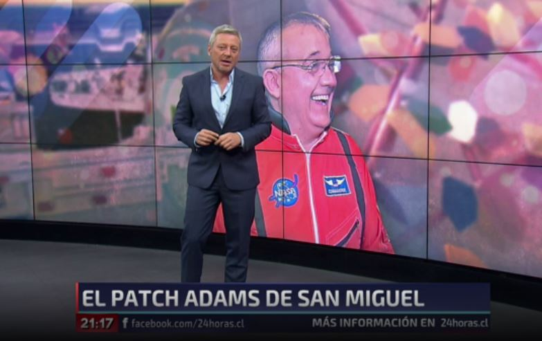 #24HorasCentral | Él es el Patch Adams de San Miguel → https://t.co/Kw...
