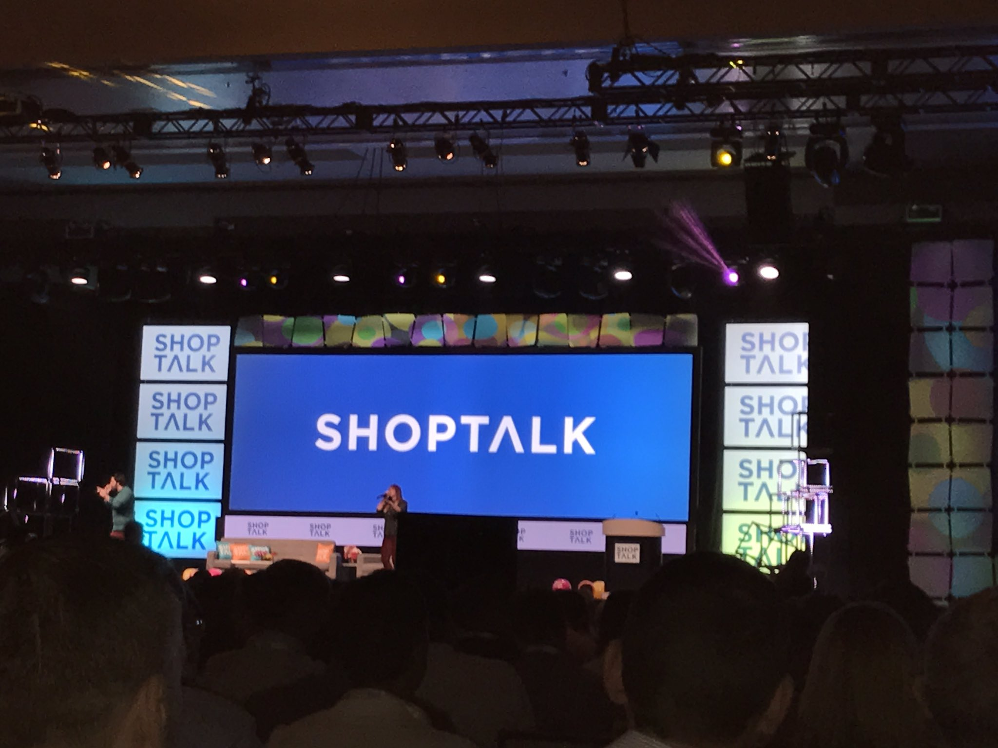 Shoptalk kicking of in Vegas!  @Simpactful #shoptalk2017 https://t.co/aukZAS0pao