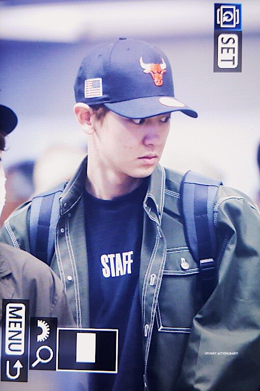 {#EXOPreview} 170320 : #Chanyeol @ ICN Airport back from Malaysia (cr.chanyeolit)pic.twitter.com/Ht7VmMcrl1