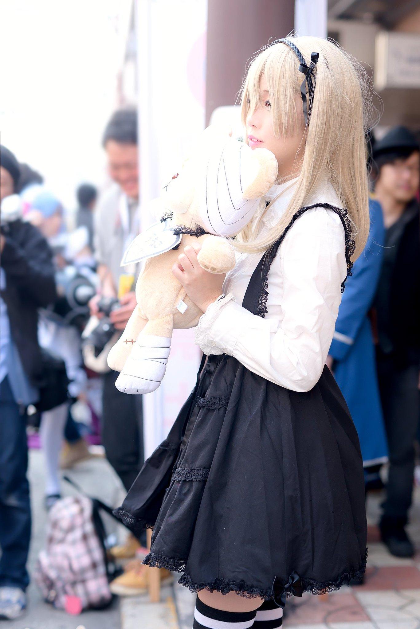 画像,2017/3/19 日本橋ストリートフェスタ2017くろねこさん(@kuroneko_cos )撮影お疲れさまのありがとでした!!#ストフェス2017 http…