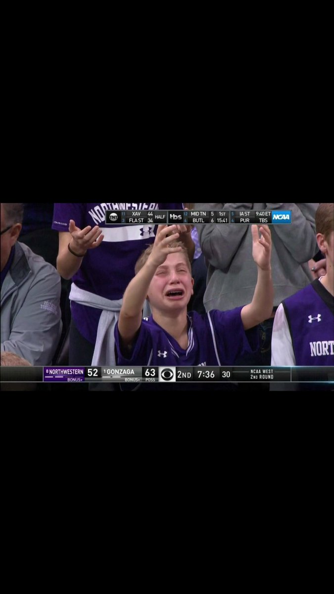 The #CryingNorthwesternKid is a sophomore at Duke now... Feel old yet?...