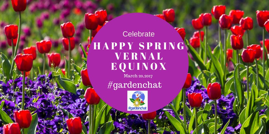 Spring Equinox Celebration #GardenChat Twitter Event https://t.co/8SyByUurEk https://t.co/OSiAbPCEj6
