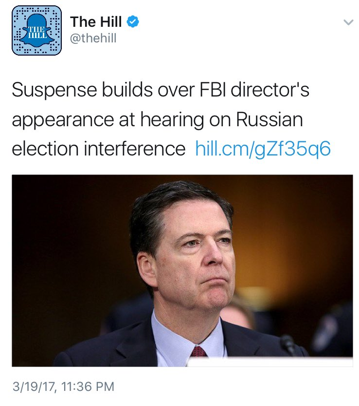 Hilarious watching the media backflip over Comey every few months every time he attacks Trump or defends Democrats