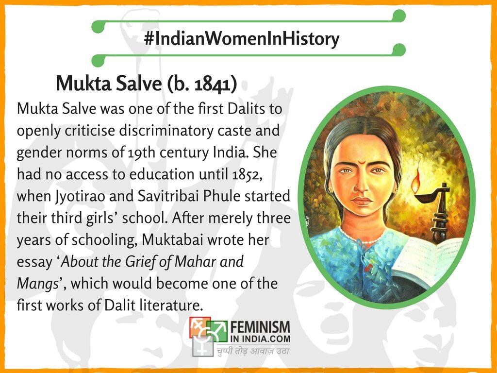"Feminism in India on Twitter: ""Today's #IndianWomenInHistory ..."