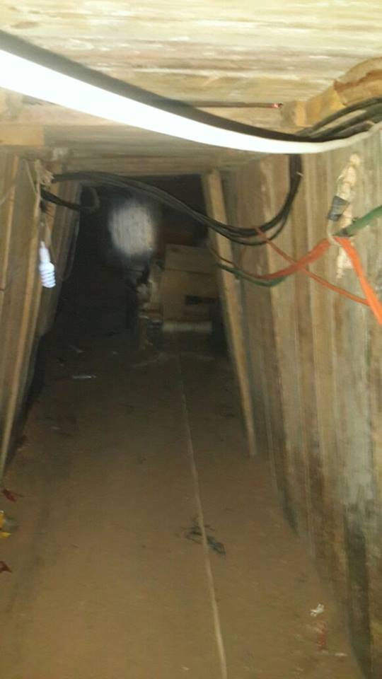 Egypt- Army discovers 2 large tunnels connecting Sinai to Gaza south of Rafah. Pics show how well established the infrastructure was
