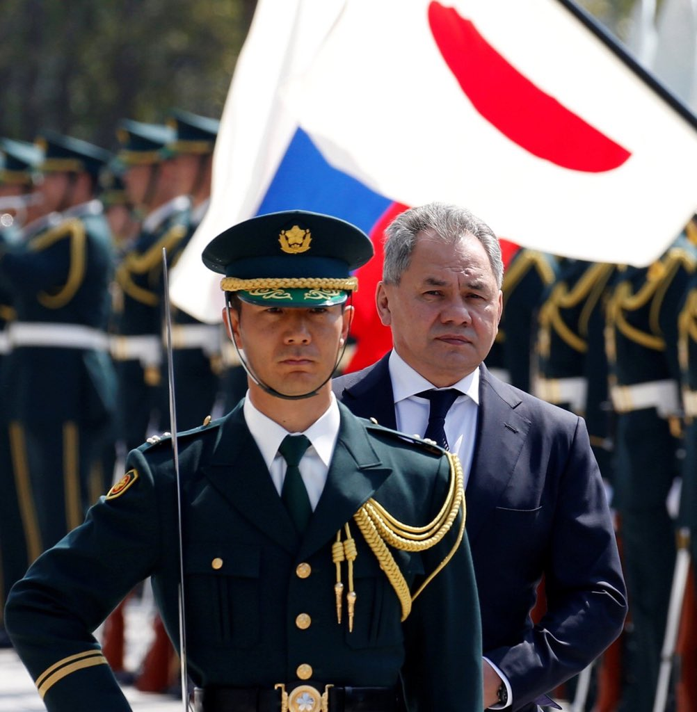 Lavrov and Shoigu flew to Japan for talks with the foreign and defense Ministers